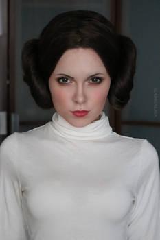 Leia cosplay Star Wars by Sladkoslava