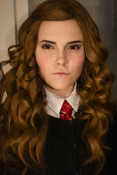 Hermione Harry Potter cosplay by Sladkoslava