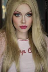 Barbie cosplay by Sladkoslava