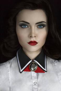 Elizabeth Bioshock Infinite cosplay by Sladkoslava