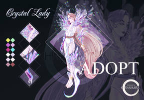 Crystal Lady ADOPT AUCTION OPEN by KHRANIMIRA