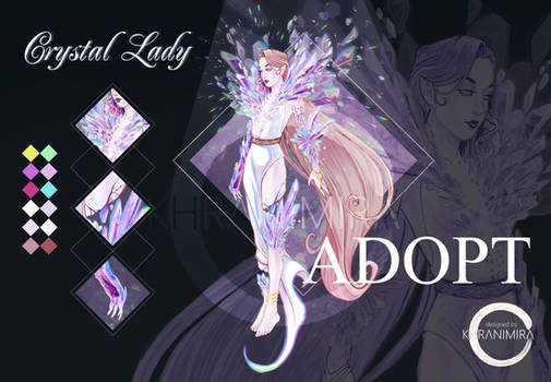 [ CLOSED ] ADOPT AUCTION - Crystal Lady