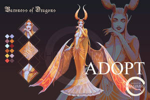 OPEN ADOPT AUCTION Baroness Of Dragons by KHRANIMIRA