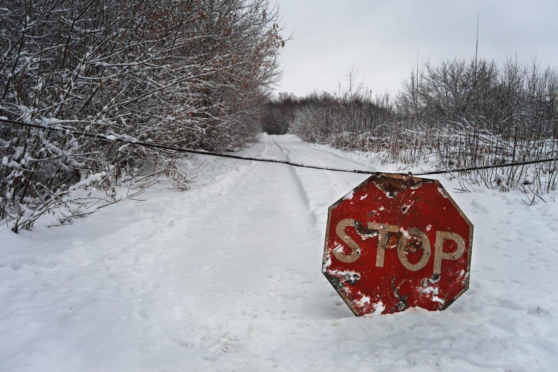 No trespassing! by Xaoc-God