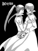 Kanda's kissing by Hikoneki