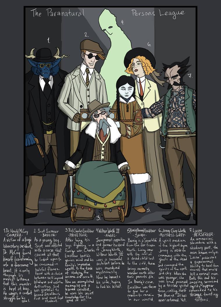 X-men: Occult Heroes by genesischant