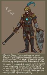 The Iron Knight of America by genesischant