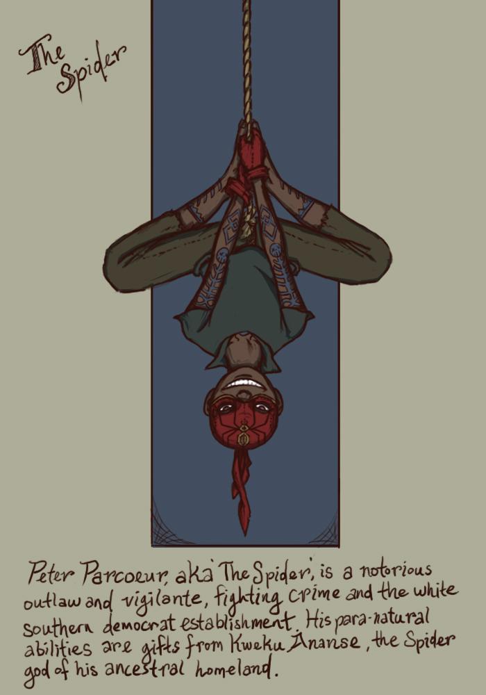The Spider by genesischant