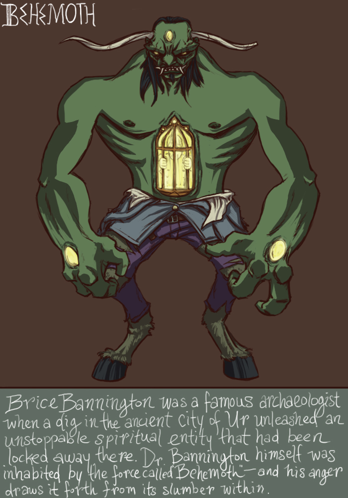 The Incredible Behemoth by genesischant