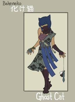 Chambara Bat-Family: Catwoman