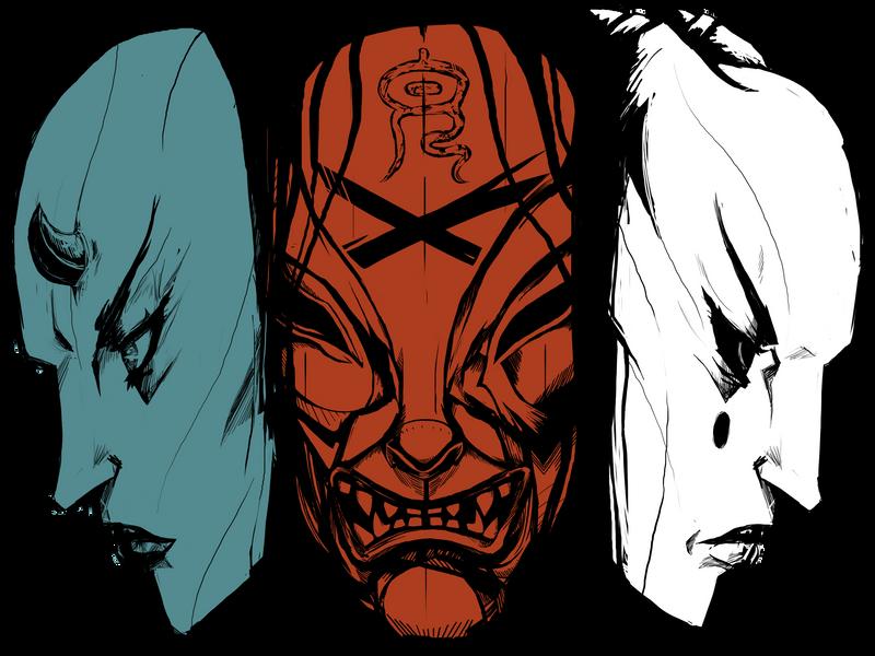 Devil Mask by genesischant