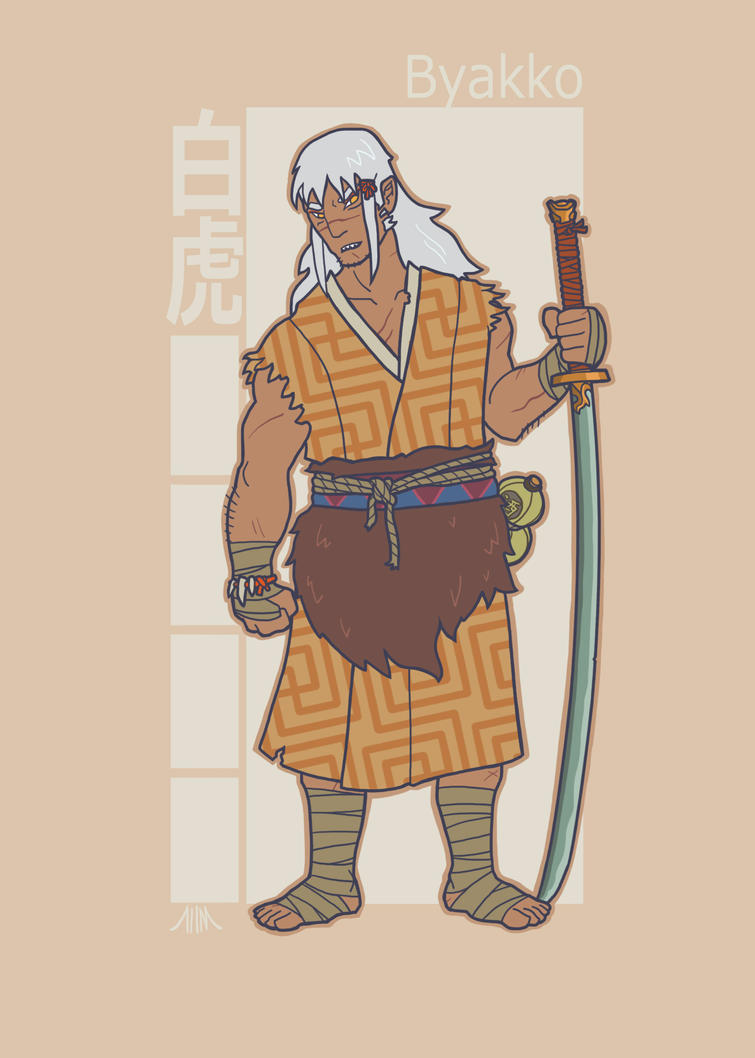 Jidaigeki X-Men: Sabretooth by genesischant