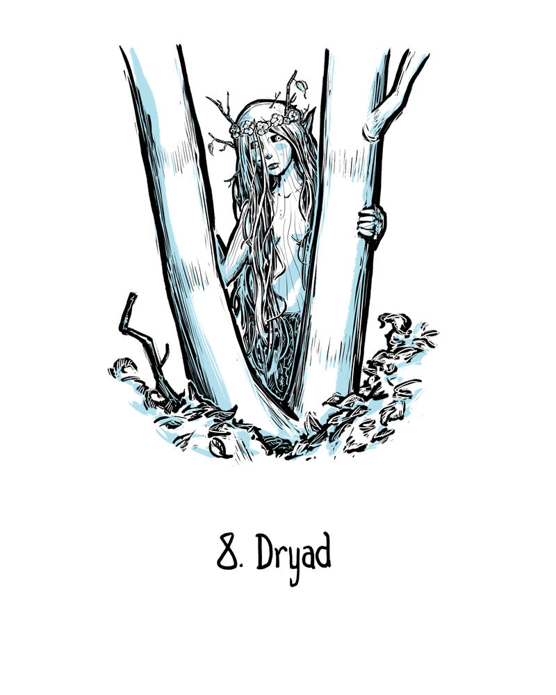 Dryad by genesischant