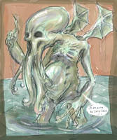 Dead Cthulhu wakes...