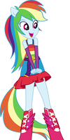 Rainbow Dash Dance Vector UPDATE V2