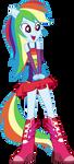Rainbow Dash Dance Vector UPDATE V2 by Sugar-Loop