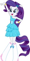 Rarity Dance Vector UPDATE V2 by Sugar-Loop