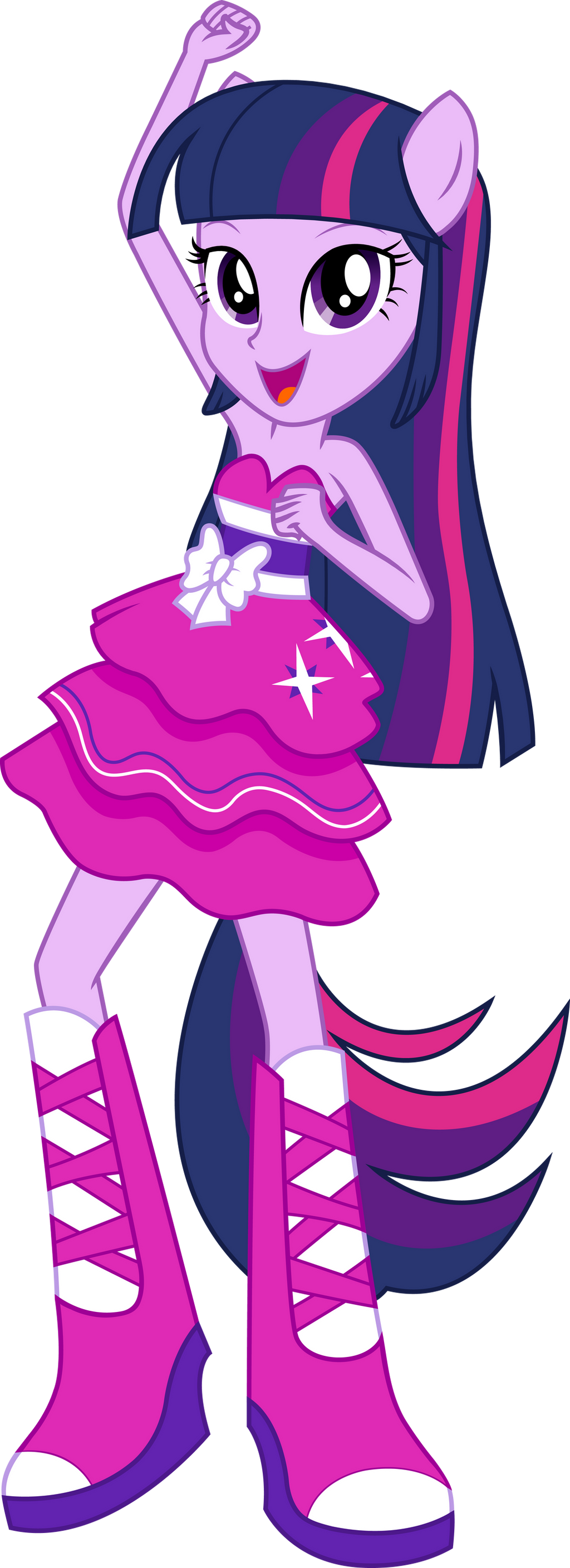 Twilight Sparkle Dance Vector UPDATE V2 by icantunloveyou