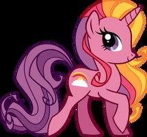 Rainbow Flash Vector by Sugar-Loop