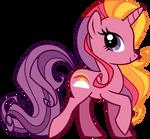 Rainbow Flash Vector