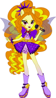 Rainbow Rocks Adagio Dazzle Vector