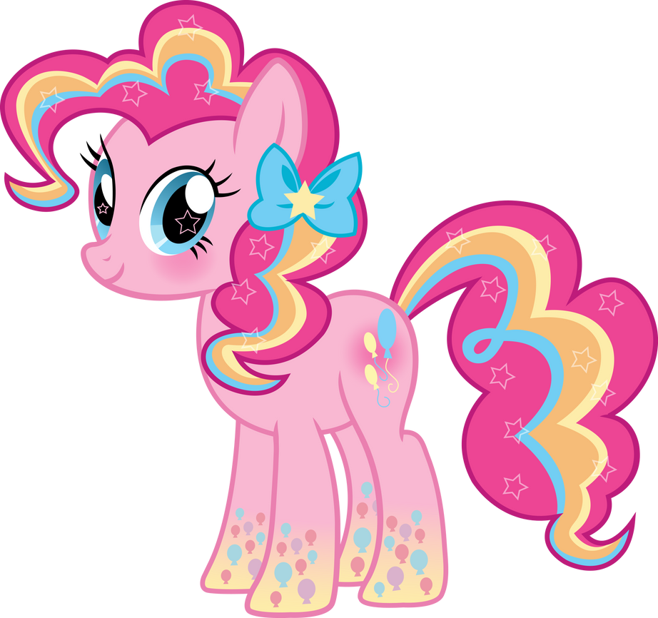 Rainbow Power Pinkie Pie Vector by icantunloveyou