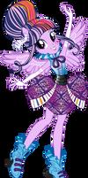 Rockin' Hair Twilight Sparkle Vector