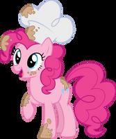 Baker Pinkie - Vector by Sugar-Loop