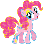 Cutie Mark Magic Pinkie Pie Vector