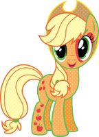 Cutie Mark Magic Applejack Vector by Sugar-Loop