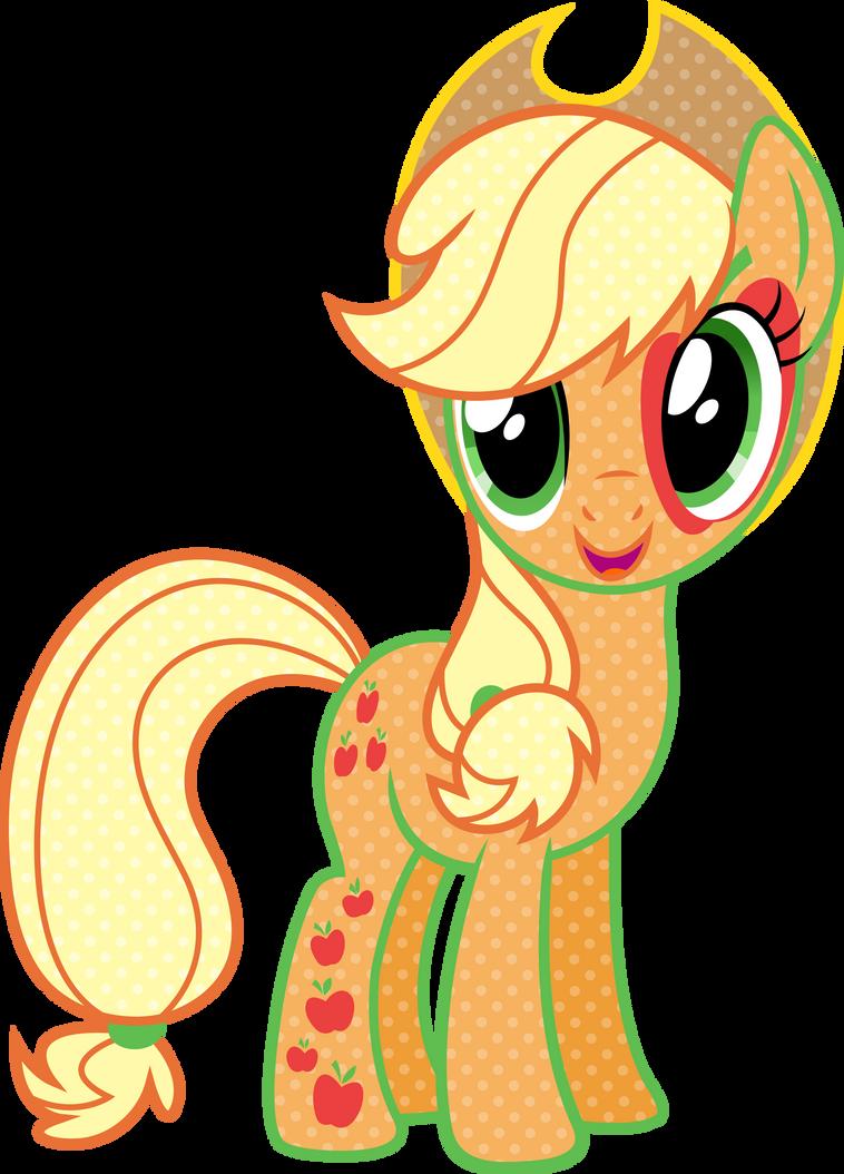 Cutie Mark Magic Applejack Vector by icantunloveyou