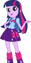 Equestria Girls Twilight Sparkle Vector