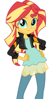 Sunset Shimmer Friendship Games Official Vector by Sugar-Loop