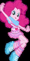 Legend of Everfree Geometric Pinkie Pie Vector