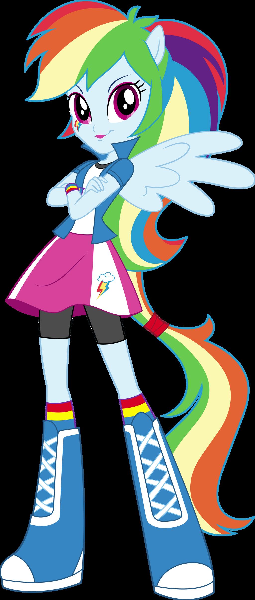 Mlp anthro rainbow dash - photo#49