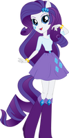 Anthro EQG Rarity Vector by Sugar-Loop