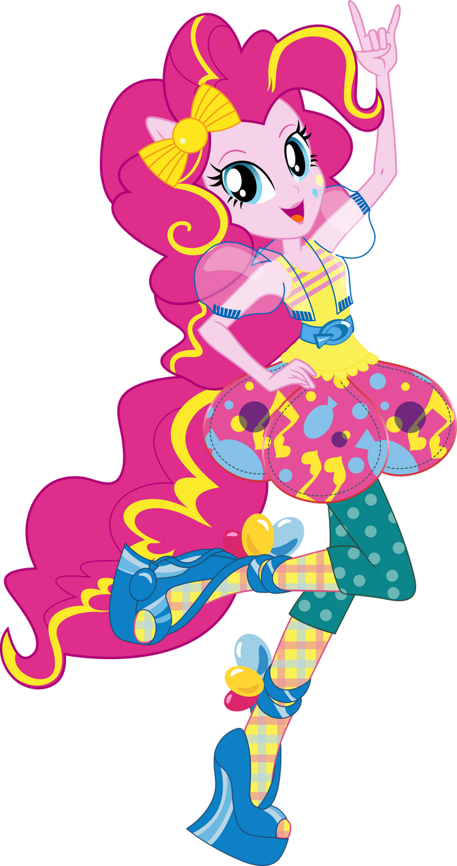 Pinkie Pie Fashion Style Vector By Icantunloveyou On Deviantart