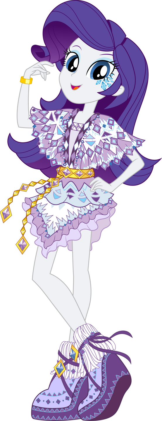 Legend of Everfree Boho Rarity Vector by icantunloveyou