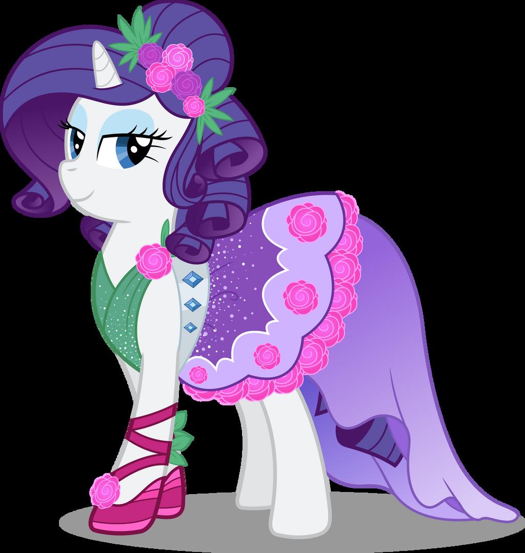 pony crystal gala rarity by icantunloveyou on deviantart