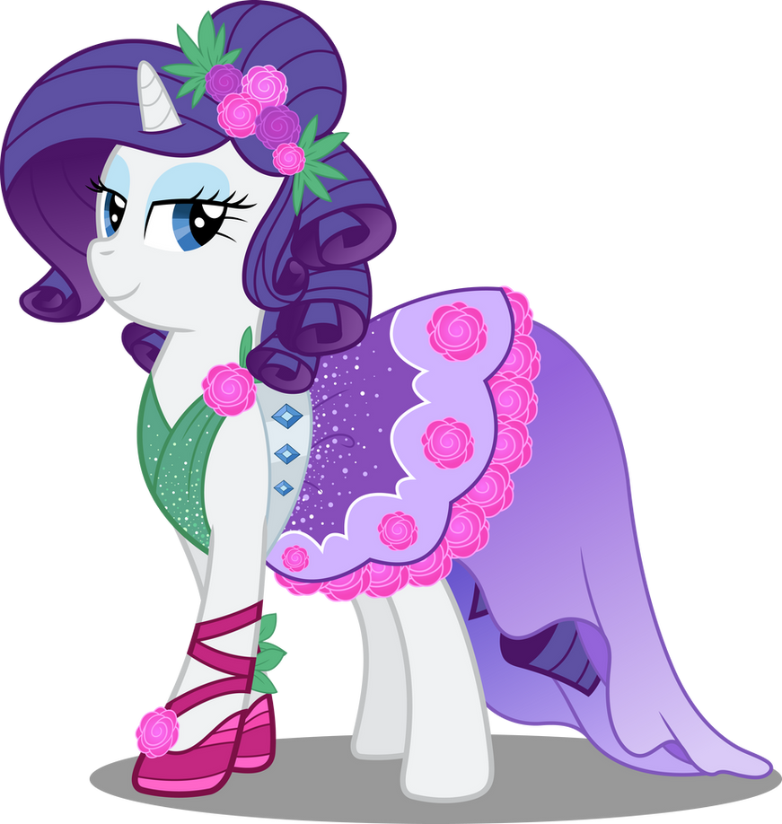 Pony Crystal Gala - Rarity by icantunloveyou on DeviantArt