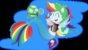Seaquestria Girls - Rainbow Dash