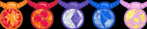 EQG Crystal Necklaces by Sugar-Loop