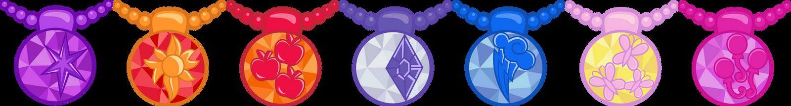 EQG Crystal Necklaces