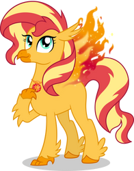 Sunset Shimmer Day: Hippoenix Sunset by Sugar-Loop