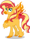 Sunset Shimmer Day: Hippoenix Sunset