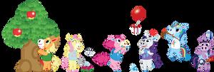 My Little Crossing - Ponies