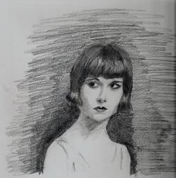 Louise Brooks by Elwen22