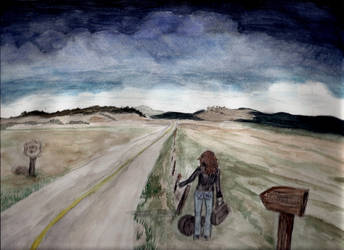 On the road by Elwen22