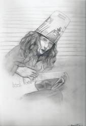 Buckethead by Elwen22
