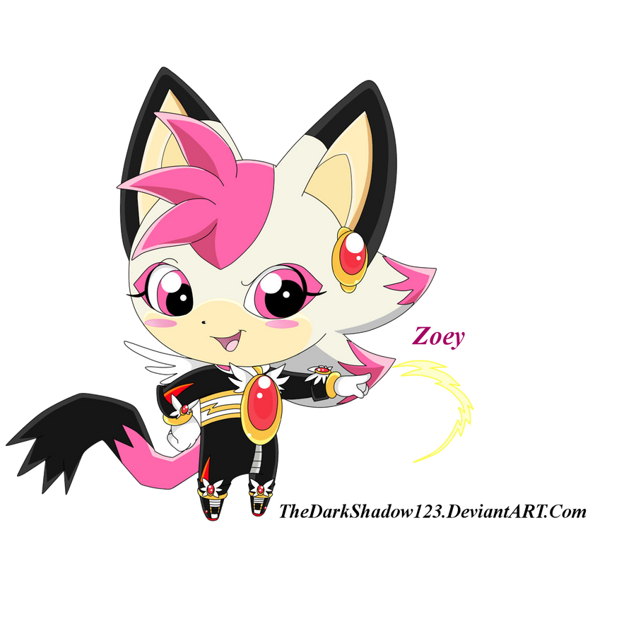 New Style practica 1CFCS: Zoey The Cat by TheDarkShadow123